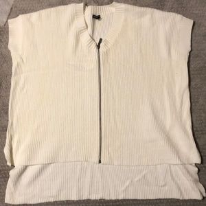 NWOT One size oversized short sleeve sweater